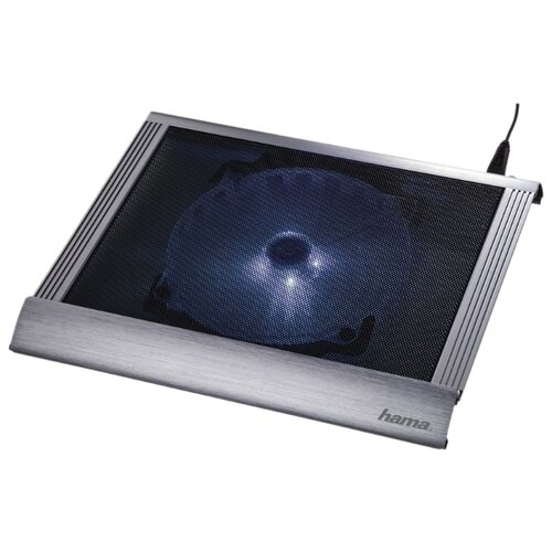 Подставка для ноутбука HAMA H-53062, серебристый подставка для ноутбука hama h 53065 черный