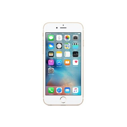 Смартфон Apple iPhone 6S 128GB золотой (MKQV2RU/A)Мобильные телефоны<br>