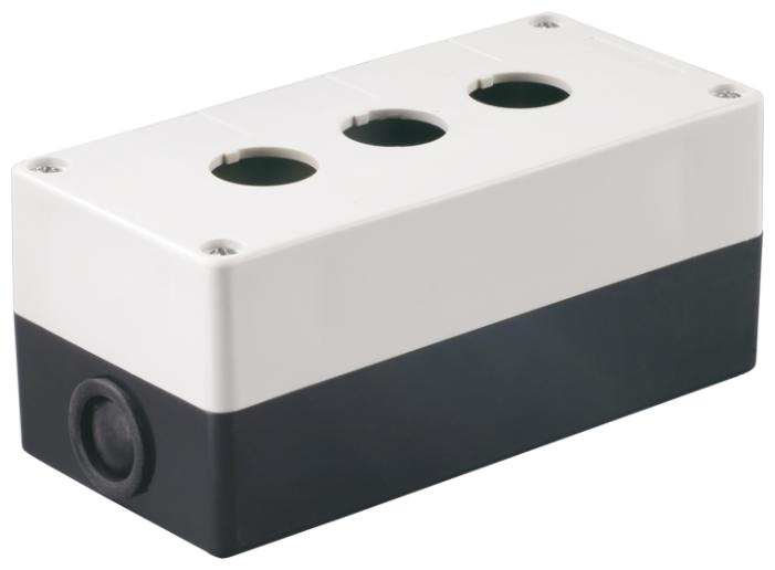 Корпус (пустой) для устройств управления и сигнализации (постов кнопочных) IEK BKP10-3-K01