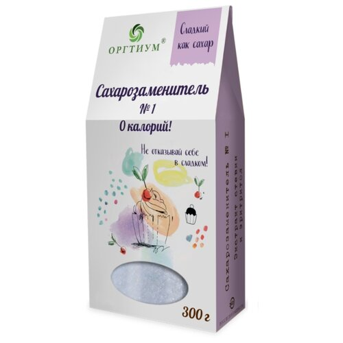 Оргтиум Сахарозаменитель № 1 порошок 300 г