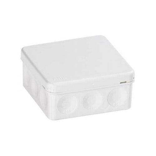 Фото - Распределительная коробка ABB AP9/AP9M/AP9/G наружный монтаж 86x86 мм белый распределительная коробка рувинил оп 9мод с дверцей цвет белый 68029