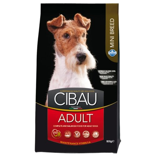 Сухой корм для собак Farmina Cibau 800г (для мелких пород) сухой корм farmina cibau sensitive lamb medium