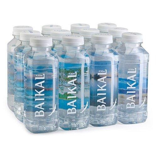 Вода питьевая Baikal430 негазированная, ПЭТ, 12 шт. по 0.45 л