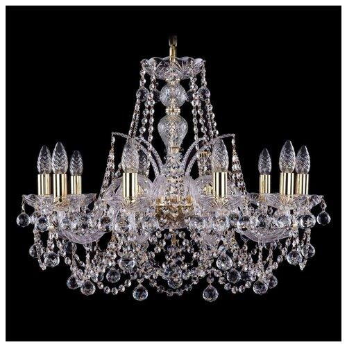 Фото - Люстра Bohemia Ivele Crystal 1411 1411/10/240/G/Balls, E14, 400 Вт люстра bohemia ivele crystal 1411 1411 6 141 g e14 240 вт