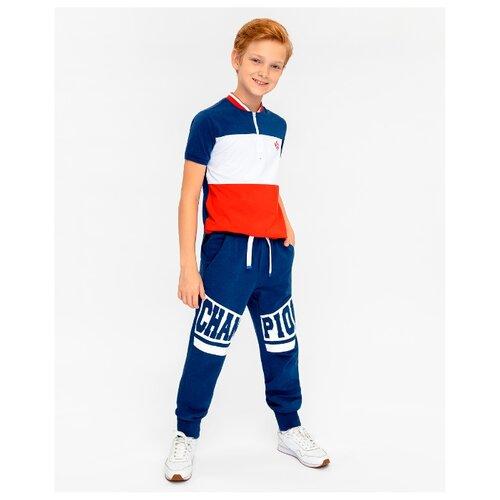 Брюки Gulliver размер 152, синий брюки gulliver 21911bjc6405 размер 152 синий