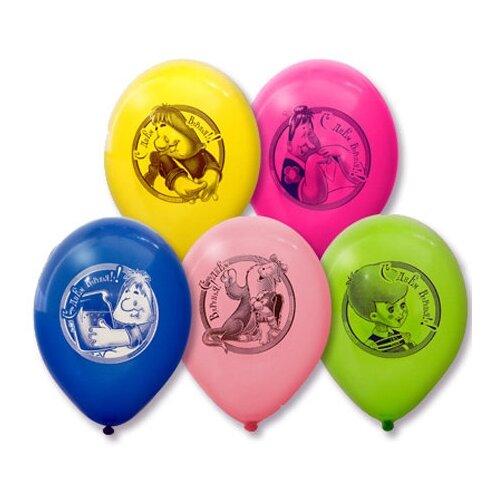 веселая затея светящаяся палочка со свистком камуфляж Набор воздушных шаров Веселая затея 1111-0636 (5 шт.) ассорти