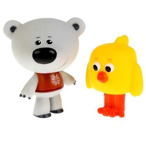 Набор для ванной Играем вместе Мимимишки. Цыпа и тучка (LX-M308) белый/желтыйИгрушки для ванной<br>