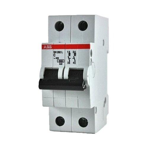 Автоматический выключатель ABB SH202L 2P (С) 4,5kA 16 ААвтоматические выключатели<br>