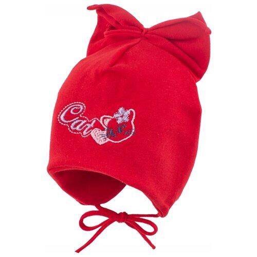 Купить Шапка InFante размер 42-44, красный, Головные уборы