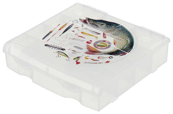 Ящик с органайзером BLOCKER 9 ячеек BR3727 17 х 16 x 4.5 см