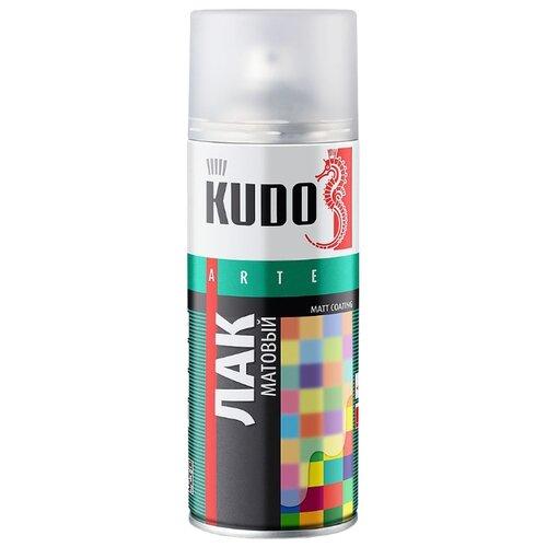 Лак KUDO универсальный матовый прозрачный 520 мл astrohim жидкая резина 520 мл прозрачный