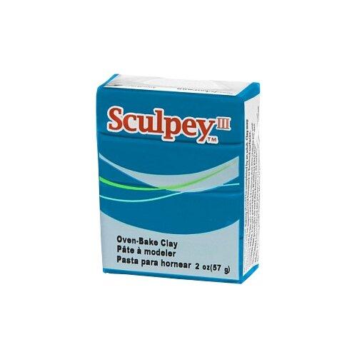Купить Полимерная глина Sculpey III 505 (бирюза), 57г, Глина