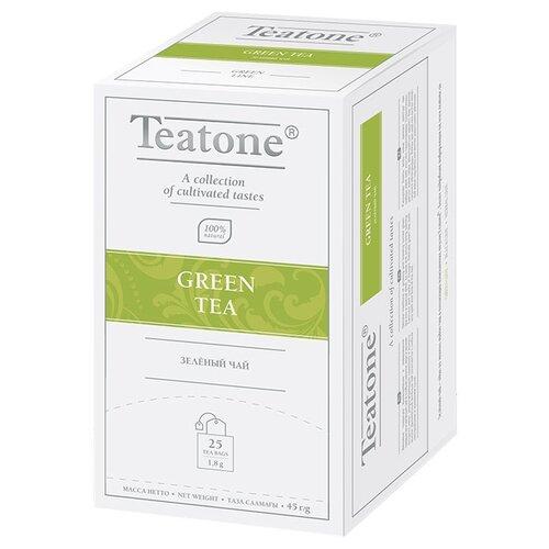 Чай зеленый Teatone в пакетиках, 25 шт. чай зеленый императорский чай collection china yunnan в пакетиках 25 шт