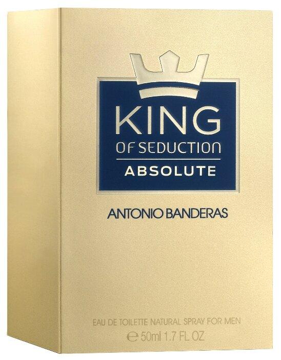 Туалетная вода Antonio Banderas King of Seduction Absolute