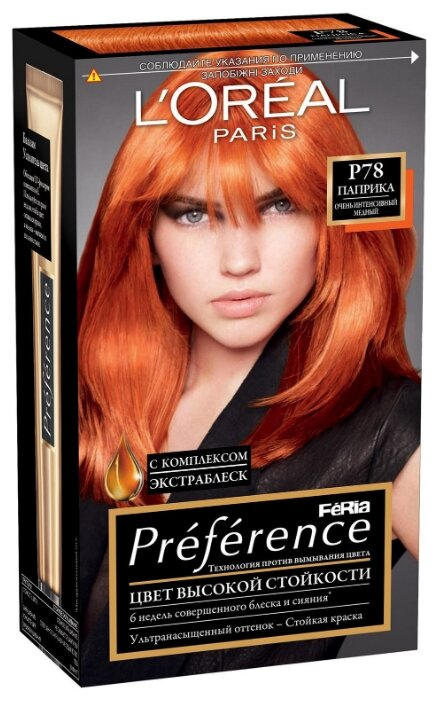L'Oreal Paris L Oreal Paris Preference Feria стойкая краска для волос