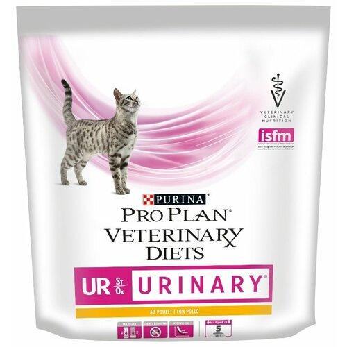 Фото - Корм для кошек Pro Plan Veterinary Diets Feline UR Urinary with Chicken dry (0.35 кг) корм для кошек pro plan veterinary diets feline en gastrointestinal canned 0 195 кг 24 шт