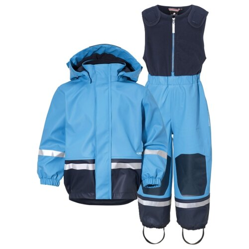 Комплект с полукомбинезоном Didriksons Boardman 502365 размер 130, 312 небесно-голубой парка didriksons marcel
