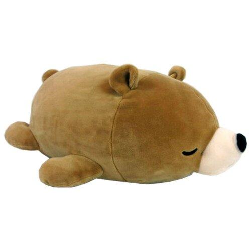 Купить Мягкая игрушка ABtoys Медвежонок коричневый 27 см, Мягкие игрушки