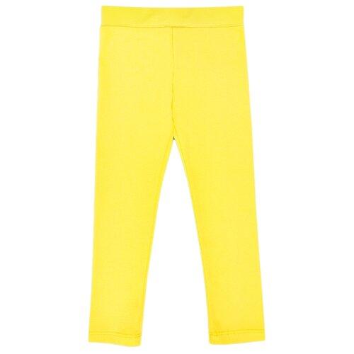 Купить Леггинсы Веселый Малыш 234/17 размер 128, желтый, Брюки