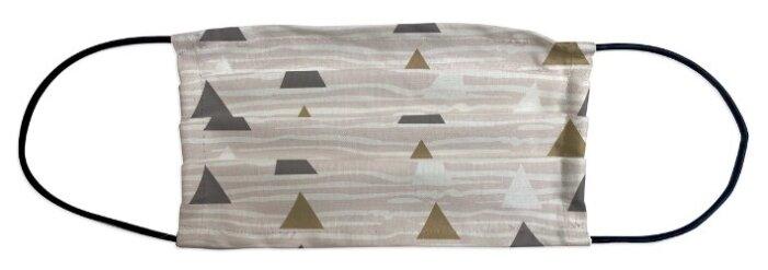 Маска защитная Marengo Textile Треугольники однослойная многоразовая (1 шт.)