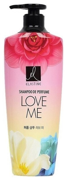 Elastine шампунь Парфюмированный Love me для всех