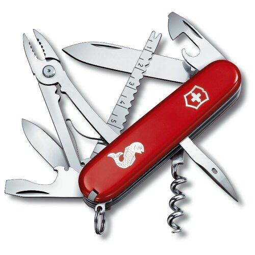 Нож многофункциональный VICTORINOX Angler (18 функций) красный швейцарский нож victorinox hercules 0 9043 111 мм 18 функций красный