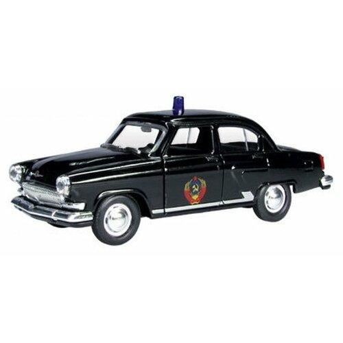 Купить Легковой автомобиль Autogrand ГАЗ-21 Волга служебная (34102) 1:43 11 см черный, Машинки и техника