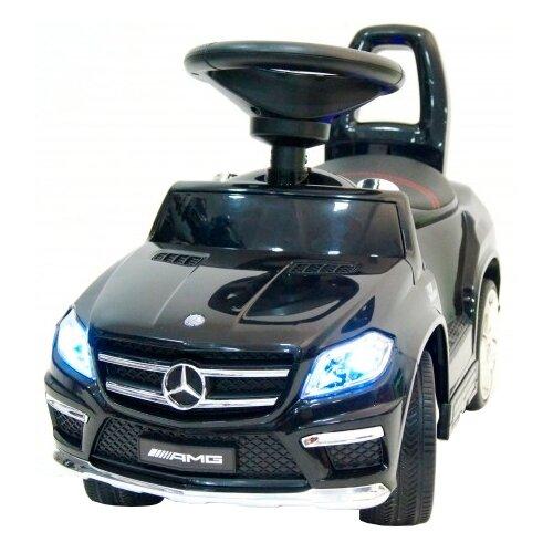 Купить Каталка-толокар RiverToys Mercedes-Benz A888AA со звуковыми эффектами черный, Каталки и качалки