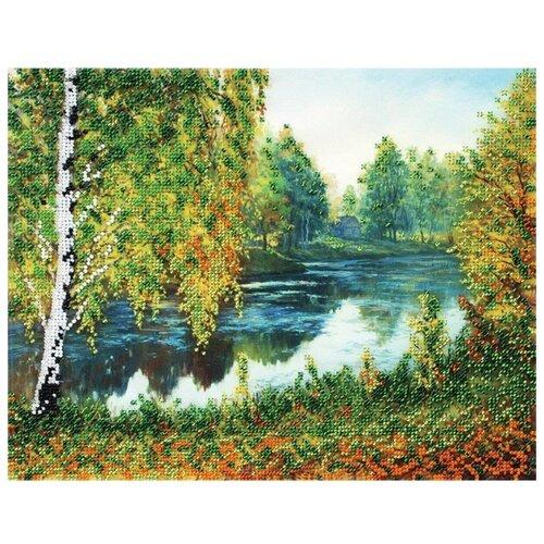 Купить Белоснежка Набор для вышивания бисером Родные места 30 x 24 см (9068-CM), Наборы для вышивания