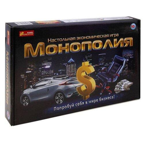 Настольная игра RANOK CREATIVE Монополия