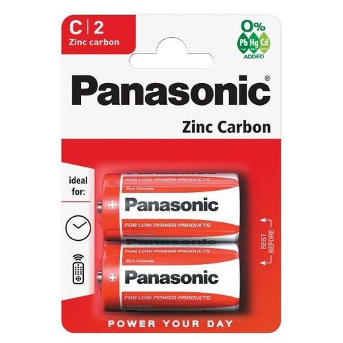 Фото - Батарейка Panasonic Zinc Carbon C/R14, 2 шт. батарейки panasonic c r14 пленка 2 шт