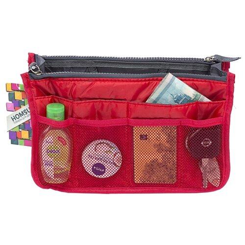 Органайзер для сумки HOMSU Chelsy, красный органайзер для сумки homsu цвет черный 28 x 8 x 16 см