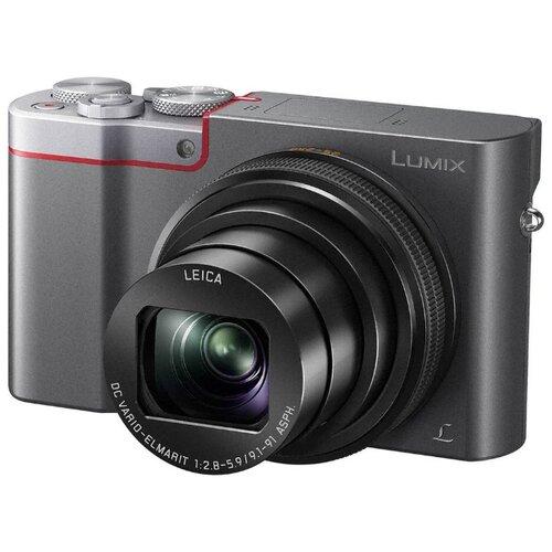 Фото - Фотоаппарат Panasonic Lumix DMC-ZS100/TZ100 серебристый фотоаппарат panasonic lumix dmc g7kee s kit lumix g vario 14 42мм f3 5 5 6 asph mega o i s серебристый черный