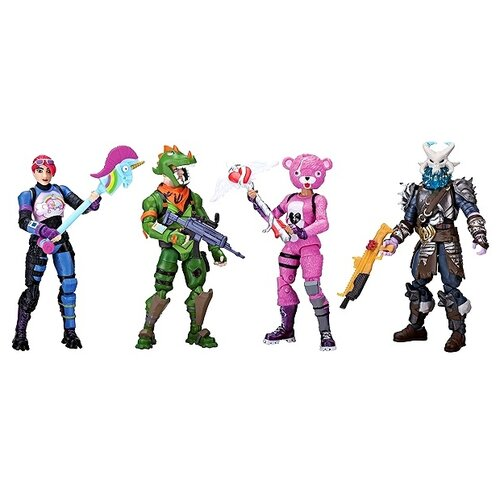 jazwares сундук jazwares fortnite с аксессуарами Фигурки Jazwares Fortnite - Squad Mode FNT0019