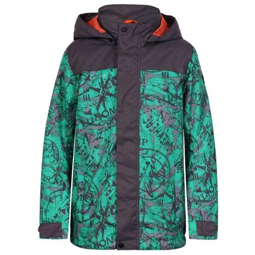 Куртка LUHTA 939085468LV280 размер 158, зеленый/серыйКуртки и пуховики<br>