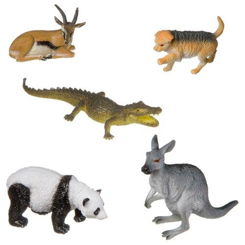 BONDIBON Ребятам о зверятах - Дикие животные ВВ3137 bondibon ребятам о зверятах дикие животные вв3136