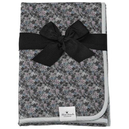 Купить Плед Elodie Details Petite Botanic 75х100 см серый/розовый, Покрывала, подушки, одеяла