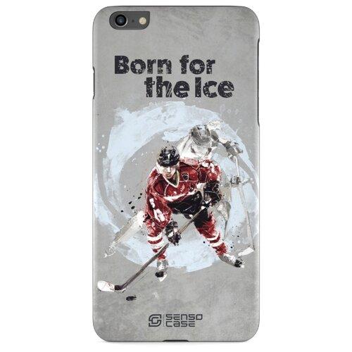Чехол Sensocase 100092 + защитное стекло для Apple iPhone 6 Plus/iPhone 6S Plus хоккей защитное стекло caseguru для apple iphone 6 6s silver logo