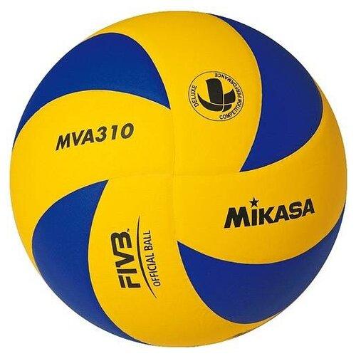 Волейбольный мяч Mikasa MVA310 желто-синий