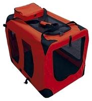 Переноска-домик для кошек и собак GiGwi Pet Travel 75209 60х42х42 см красный