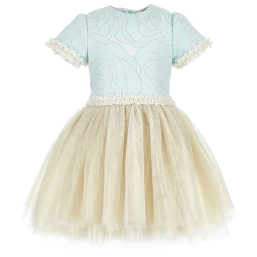Платье Silver Spoon размер 98, мятный с люрексомПлатья и сарафаны<br>