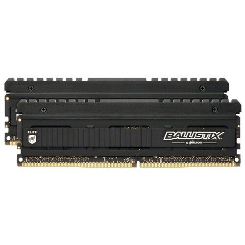 Оперативная память Crucial Ballistix Elite DDR4 3600 (PC 28800) DIMM 288 pin, 8 ГБ 2 шт. 1.35 В, CL 16, BLE2K8G4D36BEEAK