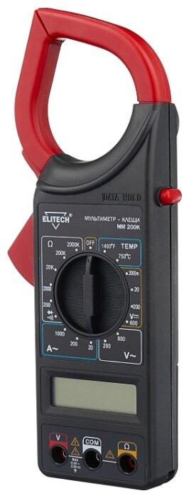 Мультиметр цифровой ELITECH ММ 200К