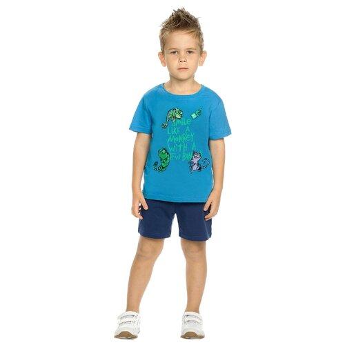 цена на Комплект одежды Pelican размер 5, лазурный