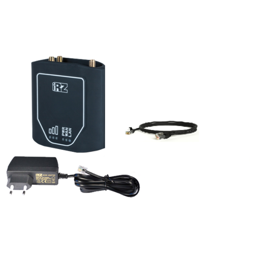 Wi-Fi роутер iRZ RU11w (без антенны), черный
