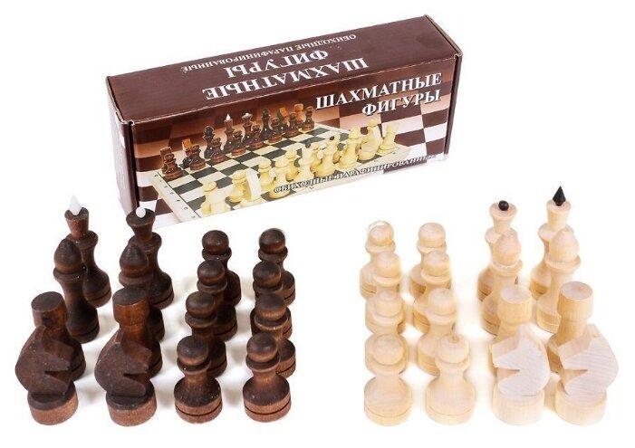 ОРЛОВСКАЯ ЛАДЬЯ Шахматные фигуры обиходные парафинированные