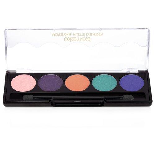 Golden Rose Палетка теней для век Professional Palette Eyeshadow 110 fashion line