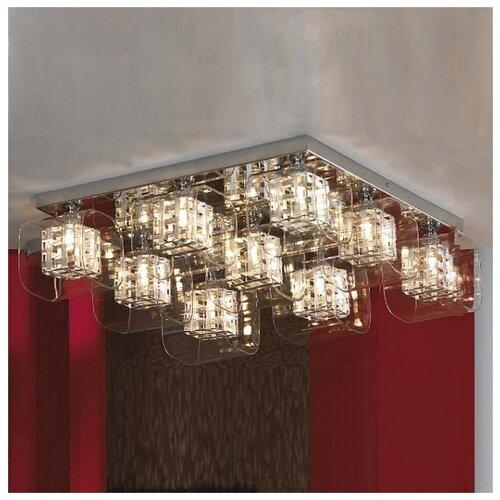 Люстра Lussole Sorso LSC-8007-09, G9, 360 Вт потолочный светильник lussole lsc 8007 04