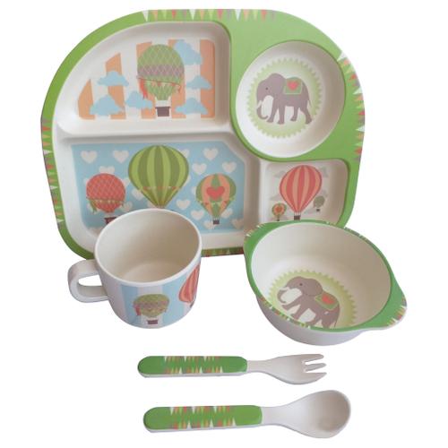 Комплект посуды Baby Ryan BF002 парашютПосуда<br>