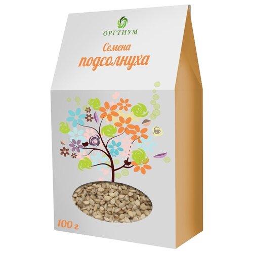 Семена подсолнечника Оргтиум очищенные экологические 100 гСемечки и семена<br>